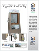 Single Window Display Brochure