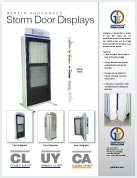 Storm Door Display Brochure