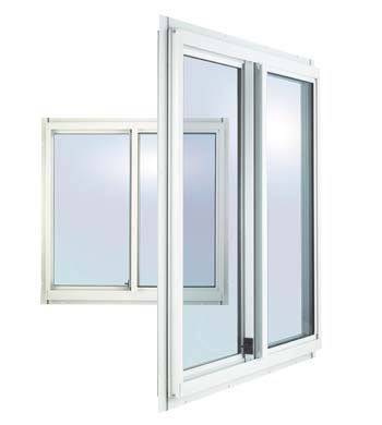5045 Horizontal Slider Aluminum Window