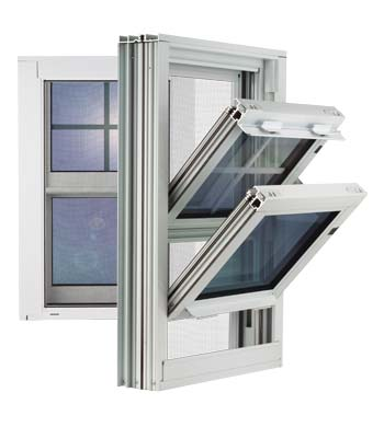 5800 Double Hung Aluminum Window